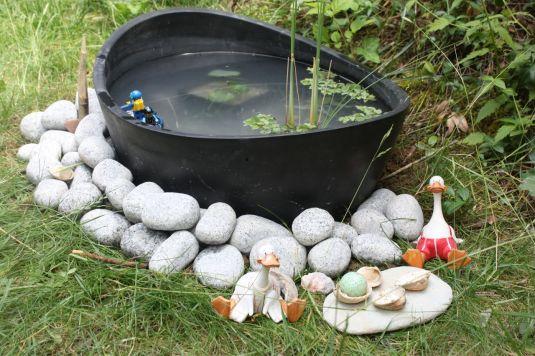 Deko am Teich