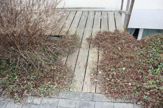 Holzboden vorher