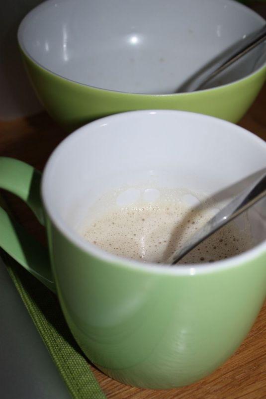 der erste Kaffee