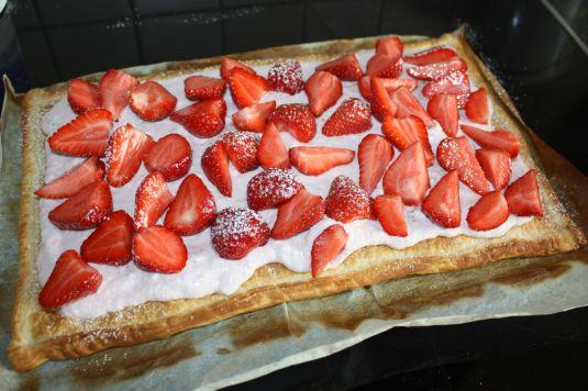Kuchen fertig