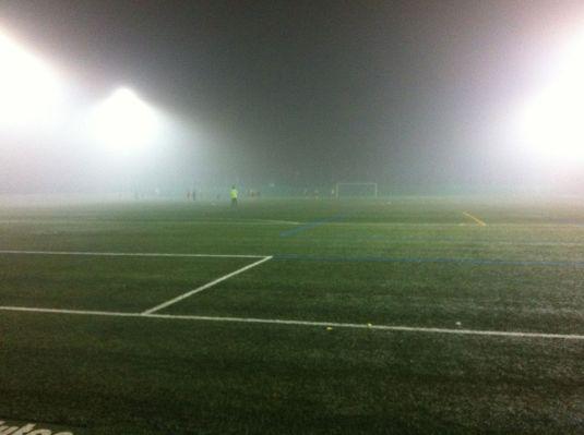 Nebelfussball