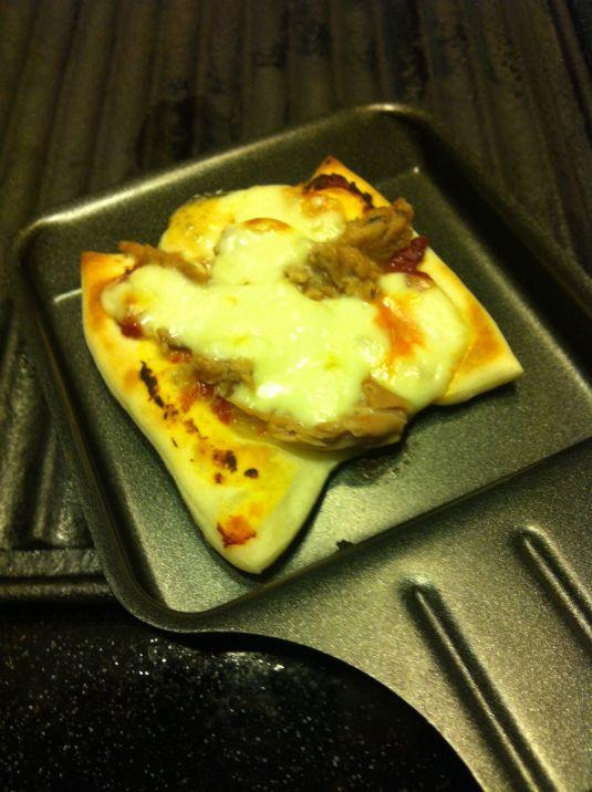 Raclettepizza 2