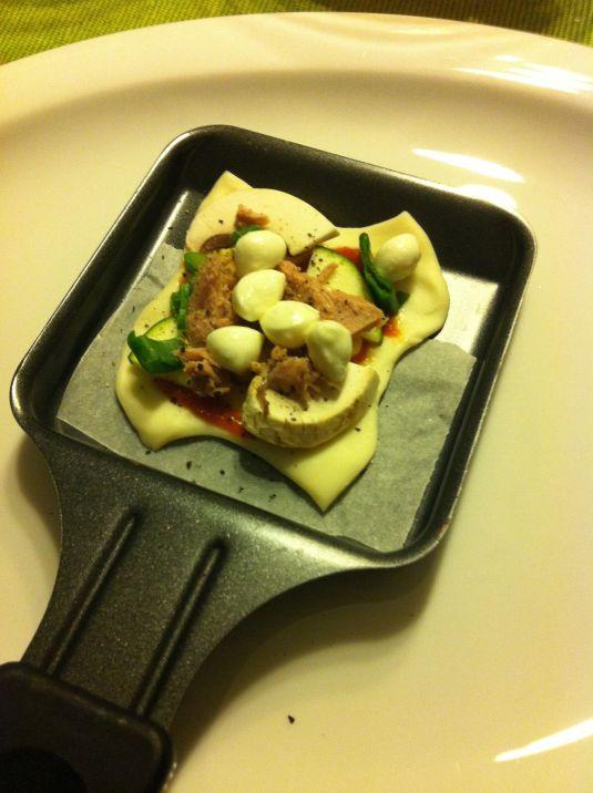 Raclettepizza 5
